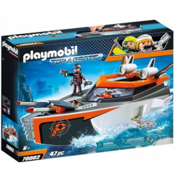Playmobil 70002 Spy Team...