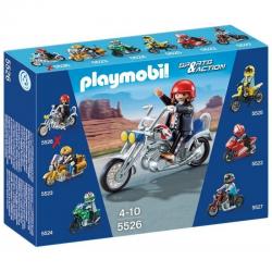 Playmobil Motocykl Eagle...