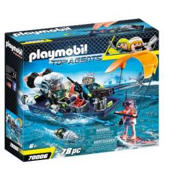 Playmobil 70006 Top Agent...