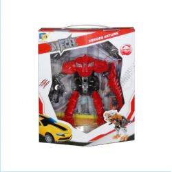 Robot transformers czerwony...
