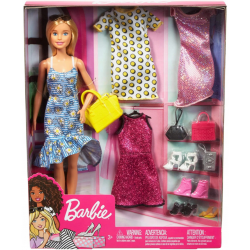 gdj40 Barbie Duży Zestaw...
