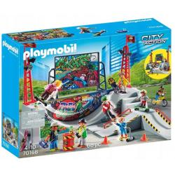 70168 Playmobil Skatepark z...
