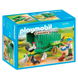 Playmobil 70138 Mobilny kurnik