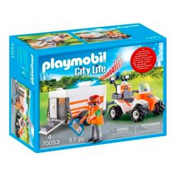 Playmobil 70053 Quad...