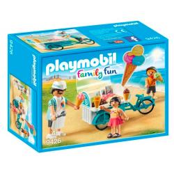 playmobil rower z wozkiem z...