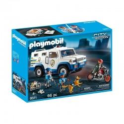 9371 playmobil Transporter...