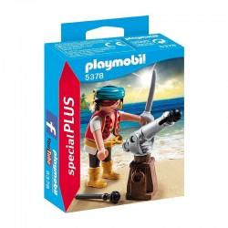5378 playmobil Pirat z armatą
